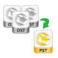 multiple OST file can be restored and migrated at once