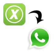 convert excel contacts into whatsapp