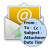keeps email data header and attachments unaltered with edb to pst converter