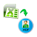 how to convert multiple contacts to vcf file from XLS format