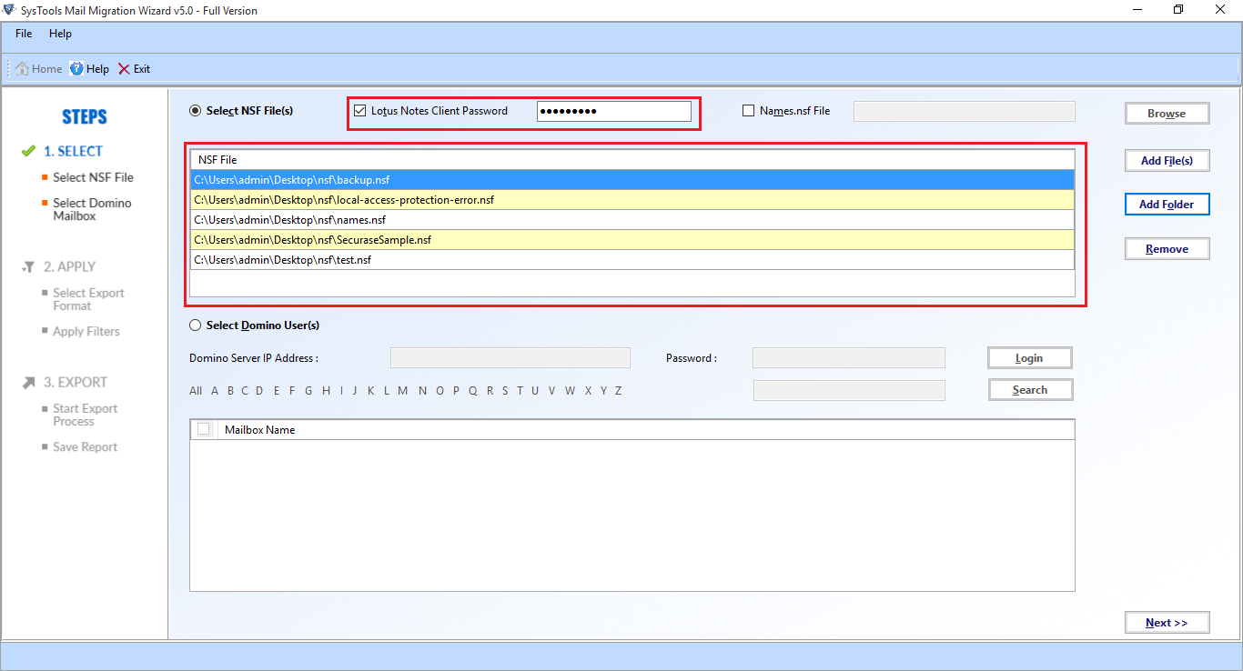 RecoveryTools Mail Migration Wizard