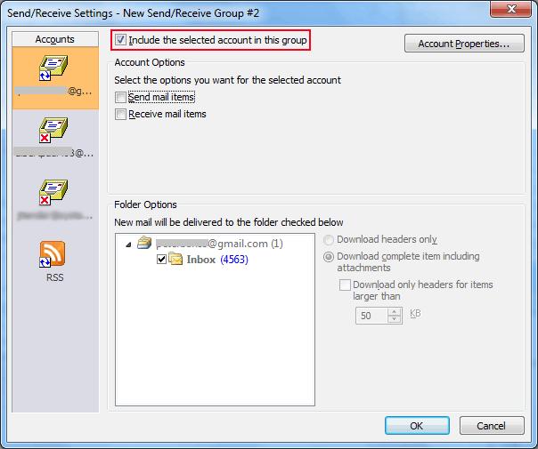 Outlook Error 0x800ccc90